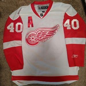 Detroit Red Wings Zetterberg Reebok Jersey Large